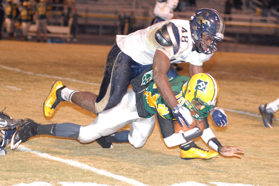 Bunn Pounces on North Brunswick Mistakes