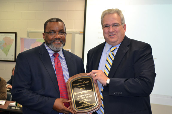 Alston named FCS Principal of the Year