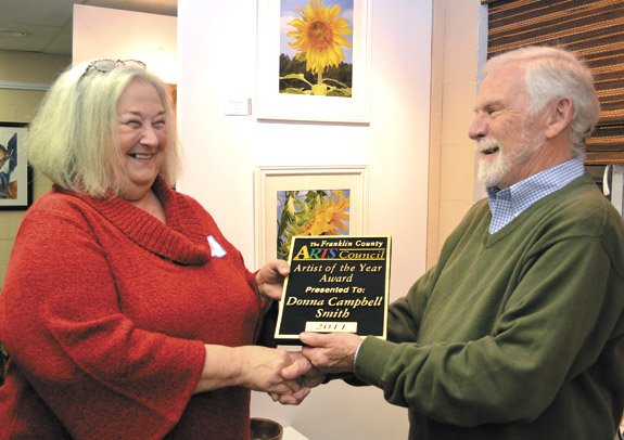 Smith named Franklin County Arts Council's artist of the year
