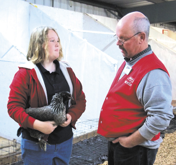 4-H'ERS DON'T CHICKEN OUT!