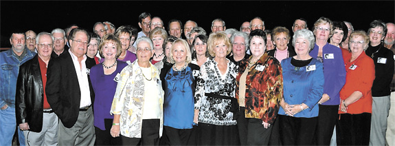 Bunn High School Class of '61 holds reunion
