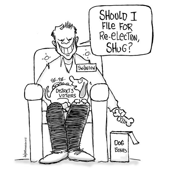Editorial Cartoon: Robert Lee, Bobby and John