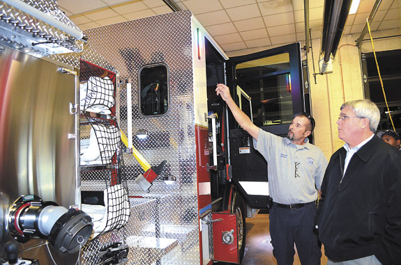 Custom fire truck meets town's needs, expands capabilities