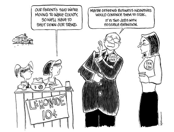 Editorial Cartoon: Lemonheads