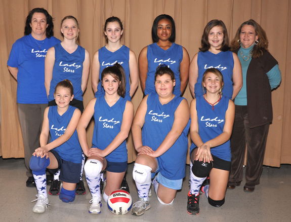 FRANKLIN COUNTY PARKS AND REC WINTER VOLLEYBALL 12-OVER LADY STARS