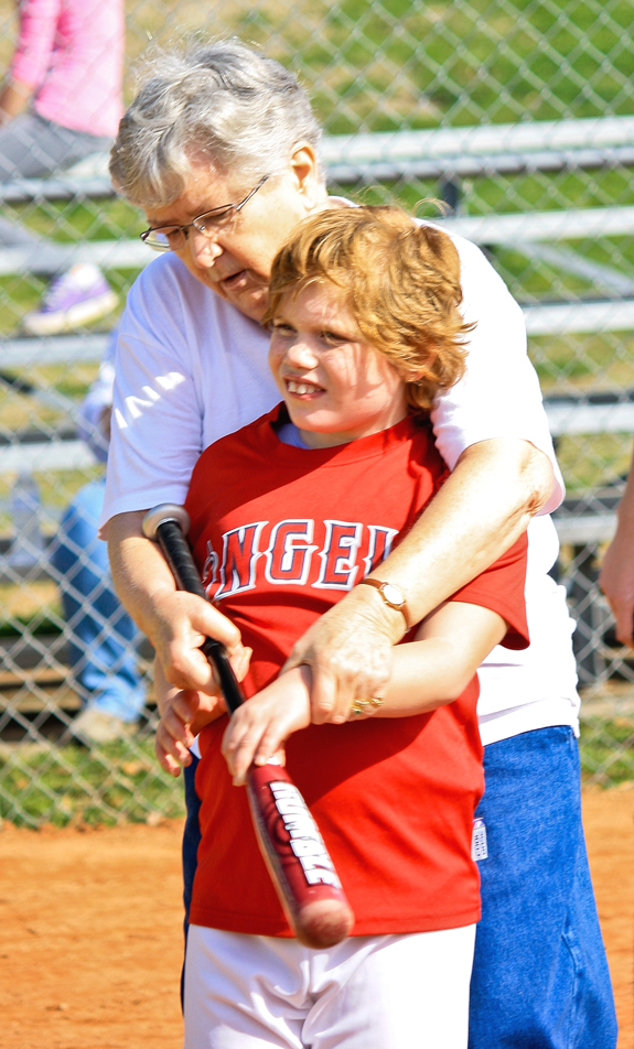 MIRACLE LEAGUE TRAINING DAY