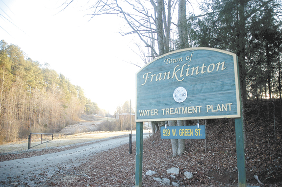 Franklinton decides hands-off approach best for water plant