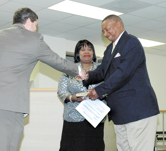 Cedric Jones joins county commission