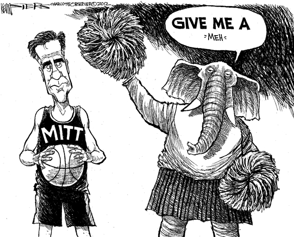 Editorial Cartoon: Mitt