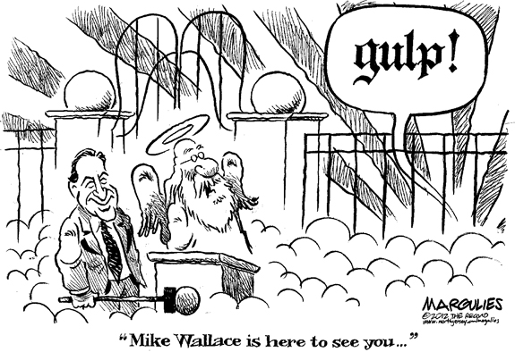 Editorial Cartoon: Mike Wallace