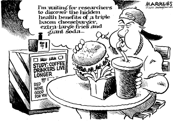Editorial Cartoon: Cheeseburger