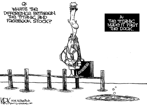 Editorial Cartoon: Facebook