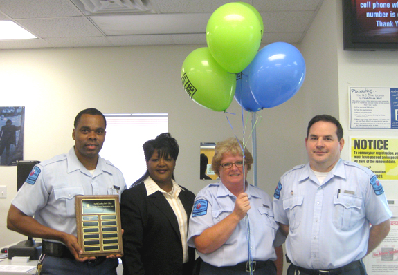 Local DMV office wins 'donor' award