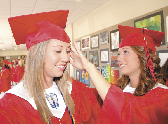Class of 2012: Diplomas in hand, ready for new horizons