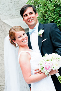 Katie Cunard, Boyce Adams exchange vows