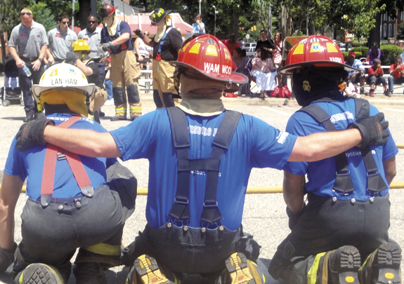 Louisburg firemen capture awards at Raleigh competition
