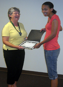 Cypress Creek Civitan club gives scholarship to BHS senior