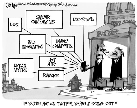 Editorial Cartoon: Twitter