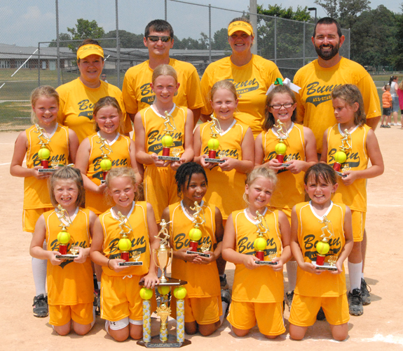 SOFTBALL DISTRICT TOURNAMENT CROWN SEEKERS