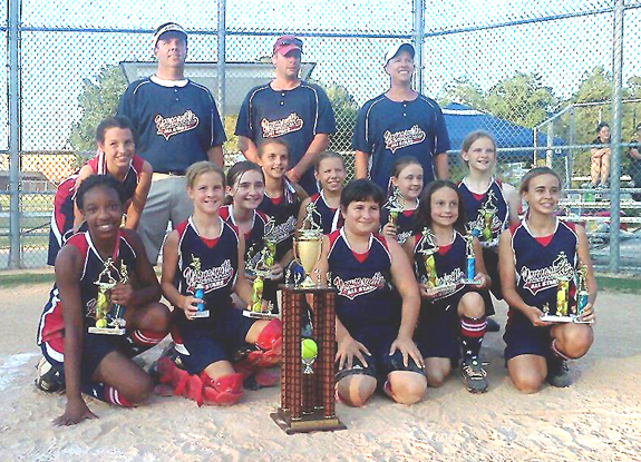 YOUNGSVILLE FIRECRACKERS -- DISTRICT CHAMPS
