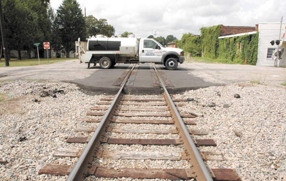 <i>Franklinton railroaded?</i>