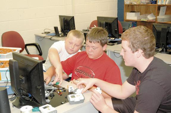 <i>Robotic education!</i>