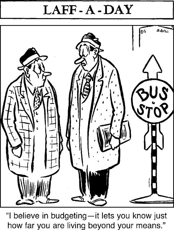 Editorial Cartoon: Budgeting