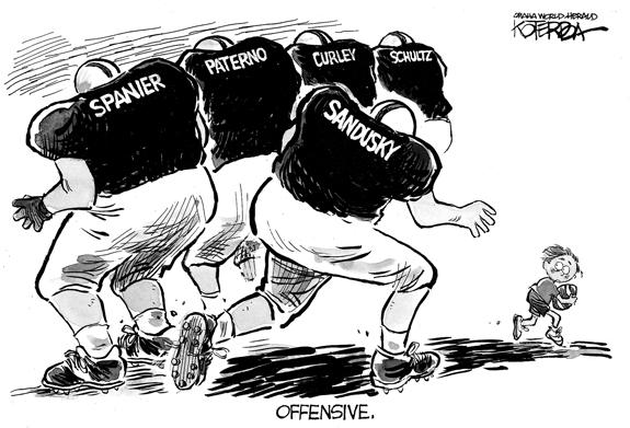 Editorial Cartoon: Penn State