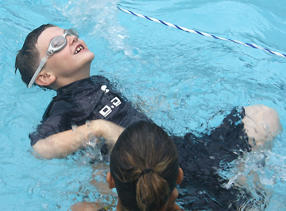 Rays Enjoy Swim Success