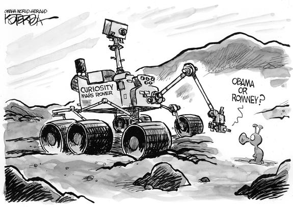 Editorial Cartoon: Curiosity