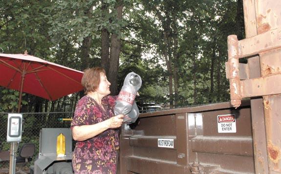 Recycling transforms trash to treasure