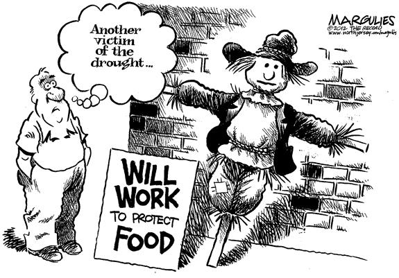 Editorial Cartoon: The Drought