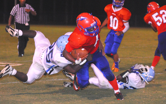 Southern Vance Outlasts Louisburg