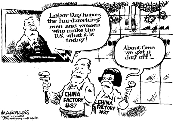 Editorial Cartoon: Labor Day