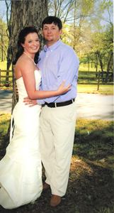 Couple weds in double-ring ceremony