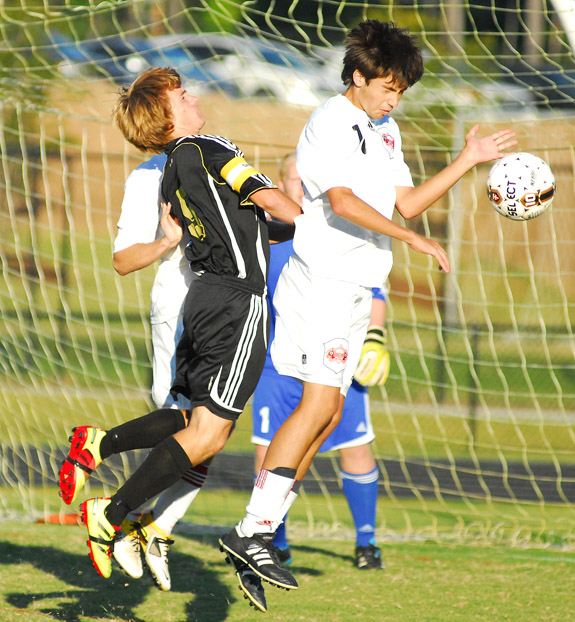 Red Rams Rout Pirates