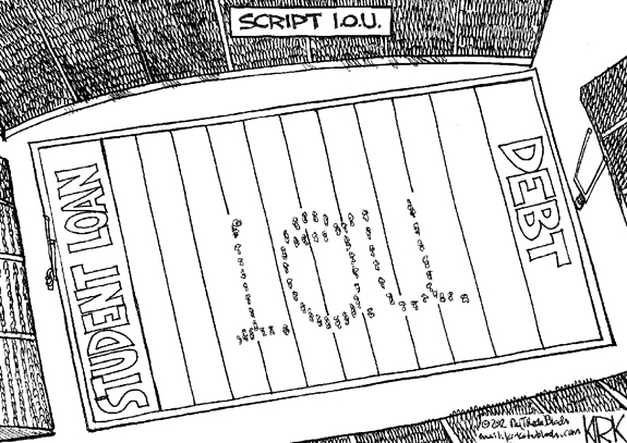 Editorial Cartoon: I.O.U.