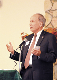 <i>A touch of optimism!</i><br>Speakers at economic development banquet paint a brighter picture