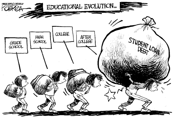 Editorial Cartoon: Education