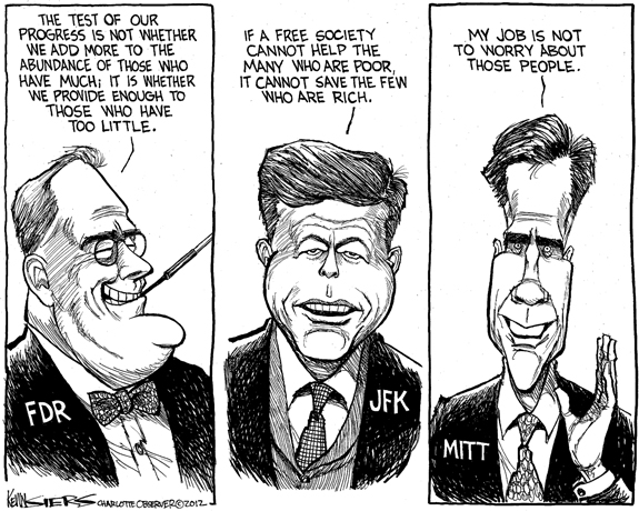 Editorial Cartoon: The Poor