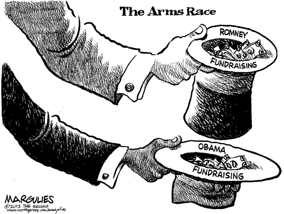 Editorial Cartoon: Arms Race