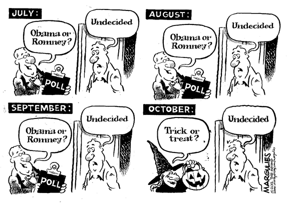 Editorial Cartoon: Trick-Or-Treat