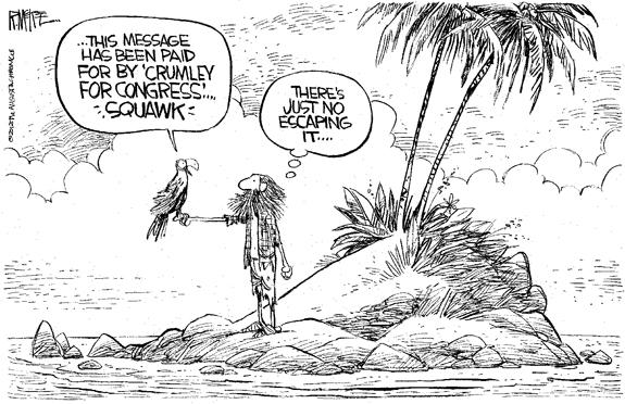 Editorial Cartoon: Island