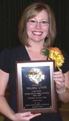 <i>Louisburg High grad is teacher of year in Lenoir County</i>