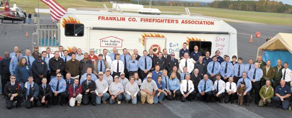 <i>Celebrating — and making — fire-fighting history</i>