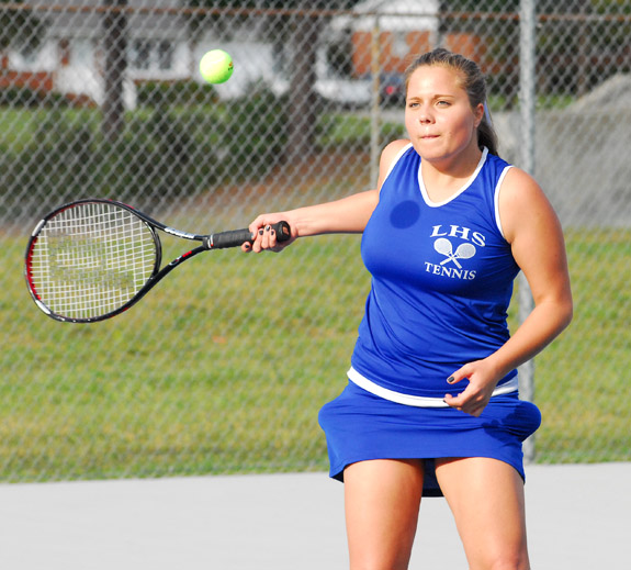 All-NCC tennis team released