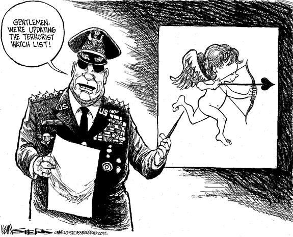 Editorial Cartoon: Terror Watch