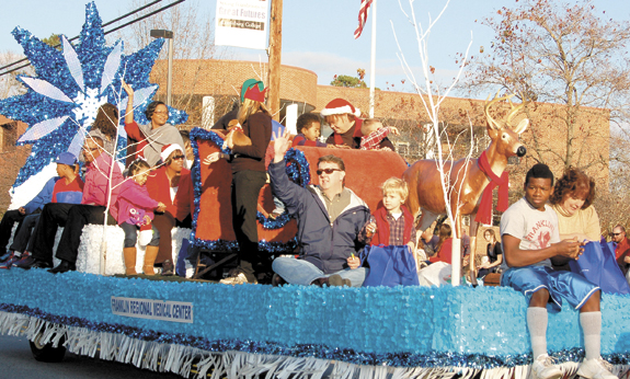Sunny skies grace Louisburg parade