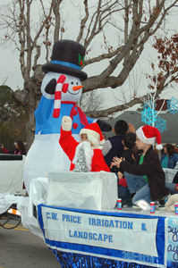 Bunn brings Christmas cheer with parade, pics 1
