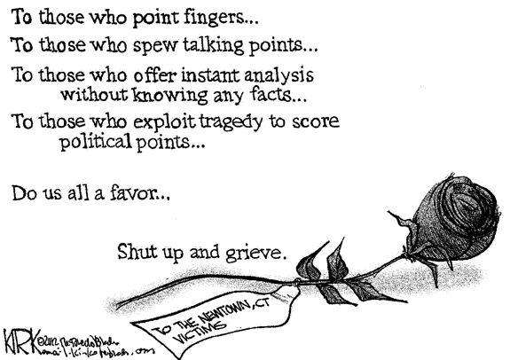 Editorial Cartoon: Grieve